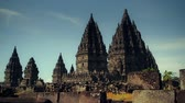Candi Prambanan is the Most Beautiful Hindu Temple in the World with 1000 temples Wideo