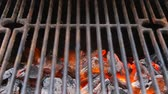 verão : BBQ Grill and glowing coals. You can see more BBQ, grilled food, fire