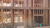 переделывать : Interior wall framing renovation new home construction