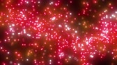 atravessar : Particles pass through a curve Stock Footage