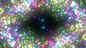 ornamentado : sparkling graphic particles Stock Footage