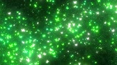 corações : sparkling graphic particles Stock Footage
