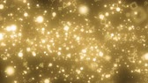 cuore sagoma : visual effects of sparkling graphic particles Filmati Stock