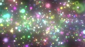 celebridade : visual effects of sparkling graphic particles Vídeos