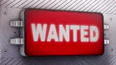 aviso : Wanted signage animation
