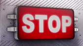 dispositivo : Stop signage animation