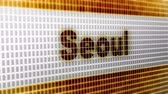 fliege : Seoul on the Screen. 4K Resolution. Encoder Prores 4444. Great Quality. Looping.