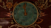 sklep : Animated Steampunk Clock with text Last Minute Wideo