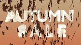 купить : Autumn Sale Animation for Advertising