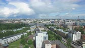 zenit : Shooting from the flying quadrocopter of the city of St. Petersburg. Part 2