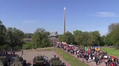 camarada : Parade in the 70th Victory Day in the Great Patriotic War on May 9 in Brest.
