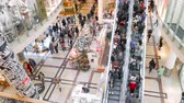 christmass : People on christmass shopping spree