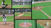American baseball game composite, external audio.