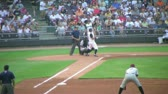 DAYTON - AUGUST 2: Batter (name withheld) strikes out during regular season baseball game August 2, 2007 in Dayton, OH.