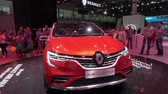 fabricante : New car Renault Arkana on exhibition stand on Moscow International Automobile Salon 2018 in Russia