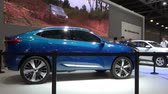 Haval HB-03 Concept Car Präsentation auf dem Moscow International Automobile Salon 2018 in Russland Stock Footage