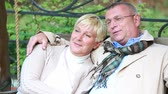 querido : Lovely senior couple enjoying peaceful retirement Stock Footage