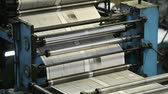 rodar : Automatic printing machine rolling paper to type the latest news
