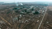rostlina : Aerial shot of large metallurgical plant with smoking chimneys polluting air Dostupné videozáznamy