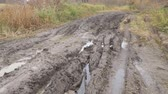 iszapos : A slippery, impassable, muddy country road in the autumn season. Offroad
