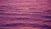 refletindo : Ripple waves reflect the post sunset purple sky