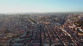 escultura : Sky view from the charming city of Lisbon and its downtow Vídeos