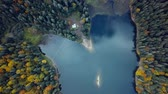 mundo : lake in the mountains Stock Footage
