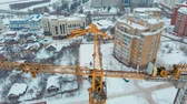 осмотр : construction of a house, aerial, copter shoot
