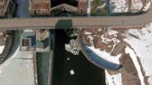 drifts : hydro power plant, aerial shoot