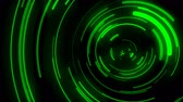 プライバシー : 3D animated background, green curve movement, curve being distributed, signal transmission, overflow and left-right motion
