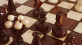 chess board : Chess Stock Footage