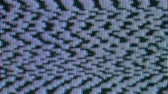 mancha : Abstract real tv noise flickering texture Stock Footage
