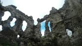 knight : castle of the knights of Templar the oldest in Transcarpathia castle ruins
