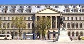 piata : BUCHAREST, ROMANIA - APRIL 13, 2016: The University Of Bucharest (Universitatea Din Bucuresti) In Romania Is An University Founded In 1864 And Is Located In Downtown Historical Center Of The City.