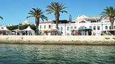 LAGOS, PORTUGAL - AUGUST 15, 2017: Travelling by Boat in Lagos City Of Portugal.
