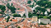 Aerial View Of Brasov City In Romania