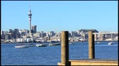 skytower : Auckland downtown skyline.Auckland has been rated one of the worlds top 10 cities to visit by travel bible Lonely Planet