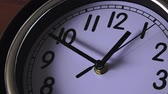 management : Time concept back in time clock ticking backwards