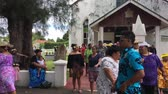 tapu : Cook Islanders exit from CICC church.94% of Cook Islanders (14,974) associated themselves with a faith. Cook Islands Christian Church (CICC) dominant with 49% (7,356) members.