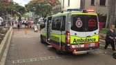terrorismo : Land ambulance in South Bank of Brisbane.  In all states with the exception of Queensland and Tasmania, users who are not on welfare benefits are billed directly for their usage