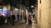 spaniards : Alley in Barcelona