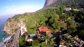 Tunnel of the Stone of Gavea in Rio de Janeiro Brazil, stone mountain in the city