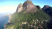 Beautiful stone mountain in the city, Rio de Janeiro Brazil