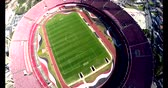 toledo : Sao Paulo Football Club or Morumbi Stadium or Cicero Pompeu Toledo Stadium.  Sao Paulo city, Brazil, South America Video made on 04202015 Stock Footage