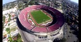 Sao Paulo Football Club of Morumbi Stadium of Cicero Pompeu Toledo Stadium. Sao Paulo city, Brazil, South America Video gemaakt op 20-04-2015