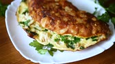 couve flor : fried wooden omelet with cauliflower Vídeos