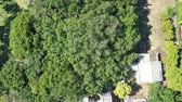 retailers : Aerial footage of Anping Tree House,Tainan, Taiwan. Stock Footage