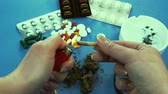 Marijuana joint. Pills are on the background Filmati Stock