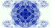 měkkýšů : crystal glass religion flower mandala fancy pattern,plant vines growing,rotation ribbon and particles chain,swirl profiled microbe and jellyfish,cells and plankton.