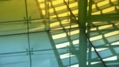 upscale : Smooth surface,reflection of roof,Luxury mall glass house,hall,Shadow.abstract,backgrounds,animation, Stock Footage